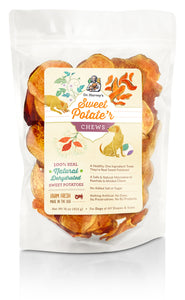 Sweet Potate'r Chews, Natural Sweet Potato Treat for Dogs