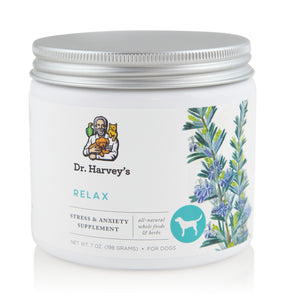 Dr. Harvey's Relax & Stress, Herbal Supplement for Dogs at NJPetSupply.com