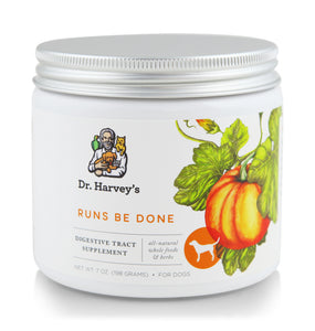 Dr. Harvey's Runs Be Done, Digestive Tract Supplement at NJPetSupply.com