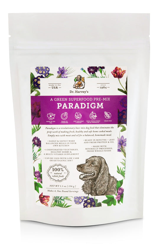 Dr. Harvey's Paradigm, A Green Superfood Pre-Mix at NJPetSupply.com
