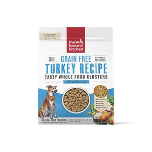 Honest Kitchen Grain Free Whole Food Turkey Clusters at NJPetSupply.com