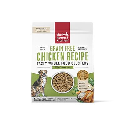 Honest Kitchen Grain Free Whole Food Chicken Clusters at NJPetSupply.com