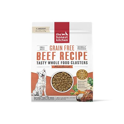 Honest Kitchen Grain Free Whole Food Beef Clusters at NJPetSupply.com
