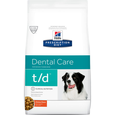 Hill's Prescription Diet t/d Canine Original Bite Chicken 4018 at NJPetSupply.com