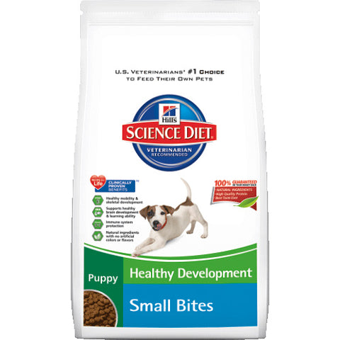 Science Diet Puppy Small Bites Dry Dog Food at NJPetSupply.com