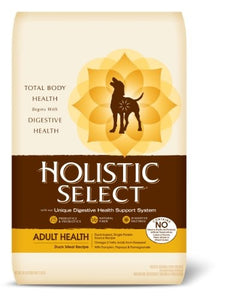 Holistic Select Radiant Health Duck Meal Dry Dog Food 15 Pound Bag at NJPetSupply.com