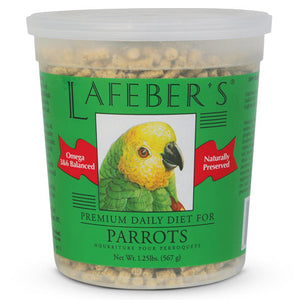 Lafebers Parrot Daily Diet Pet Bird Food 1 Pound Bag at NJPetSupply.com