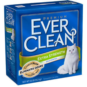 Ever Clean Extra Strength Unscented Clumping Cat Litter - NJ Pet Supply
