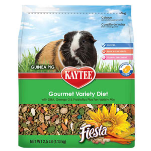 Kaytee Fiesta Max Guinea Pig Food 4.5 Pound Bag at NJPetSupply.com