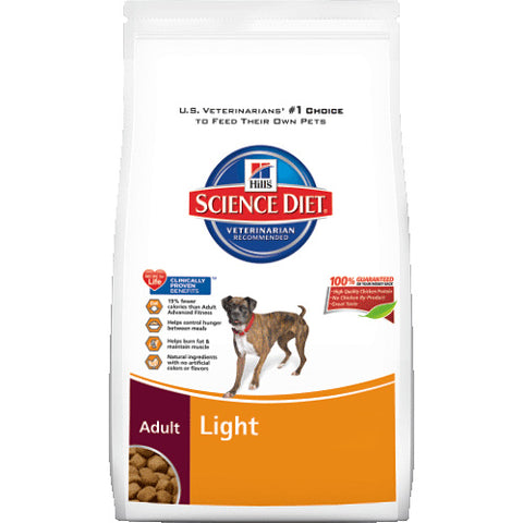 Science Diet Adult Light Dry Dog Food 5 Pound Bag at NJPetSupply.com