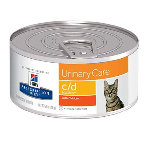 Hill's Prescription Diet c/d Multicare Feline with Chicken 6238 at NJPetSupply.com