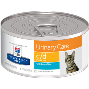 Hill's Prescription Diet c/d Multicare Feline with Ocean Fish 6239 at NJPetSupply.com