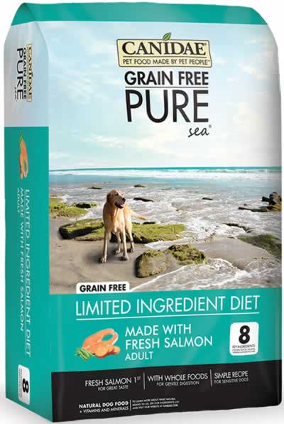 Canidae Grain Free PURE Sea with Fresh Salmon Dry Dog Food at NJPetSupply.com
