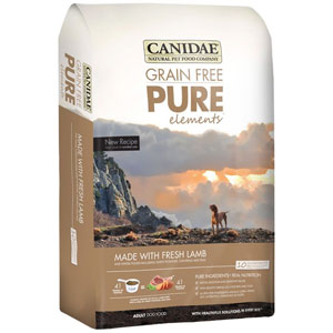 Canidae Grain Free PURE Real Lamb and Pea Recipe Dry Dog Food at NJPetSupply.com