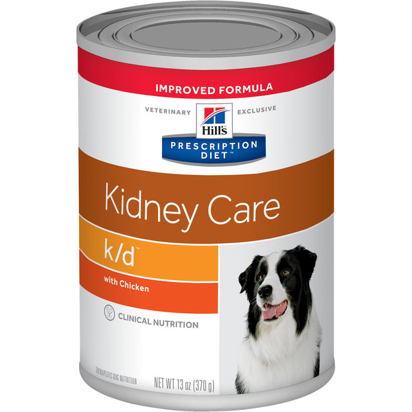 Hill's Prescription Diet k/d Canine Chicken 7010 Canned Wet Dog Food at NJPetSupply.com