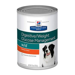 Hill's Prescription Diet w/d Canine Chicken 7017 Canned Wet Dog Food at NJPetSupply.com