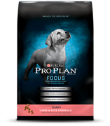 Pro Plan Focus Puppy Lamb & Rice Dry Dog Food