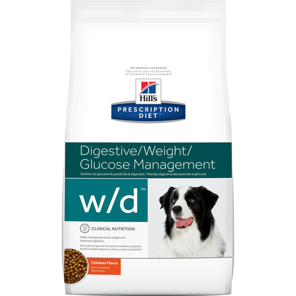 Hill's Prescription Diet w/d Canine Chicken 8671 at NJPetSupply.com