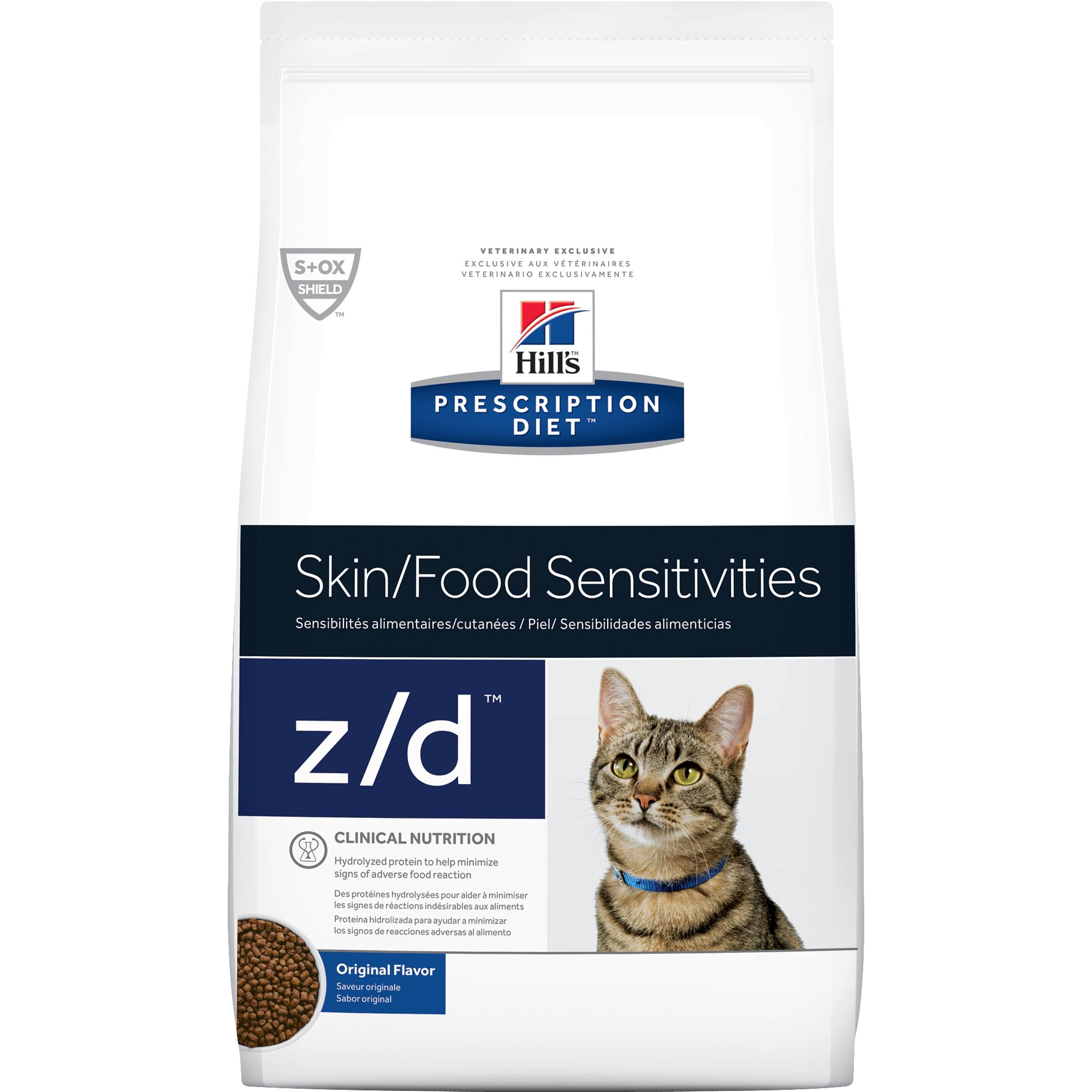 Hill's Prescription Diet z/d Feline Skin & Food Sensitivities 8728 at NJPetSupply.com