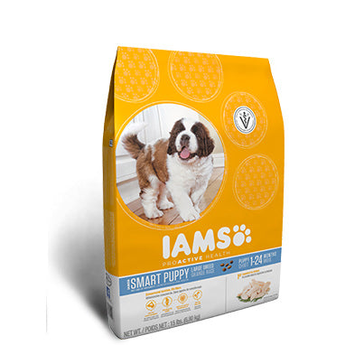 Iams Smart Puppy Large Breed Dry Dog Food at NJPetSupply.com