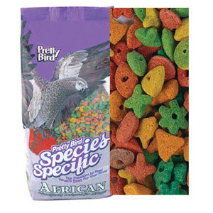 Pretty Bird African Special Pet Bird Food, 20 Pound Bag at NJPetSupply.com