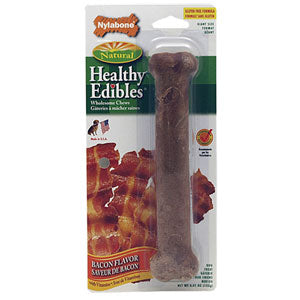 Nylabone Healthy Edibles Bacon size Petite Twin Pack at NJPetSupply.com