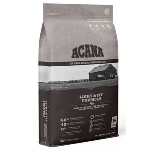 Acana Heritage Light & Fit Dry Dog Food, 4 Pound Bag at NJPetSupply.com
