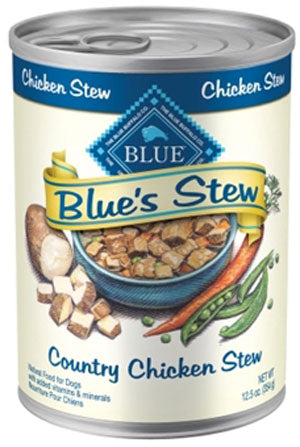 Blue Buffalo Blue's Stew Country Chicken Stew Canned Dog Food - NJ Pet Supply