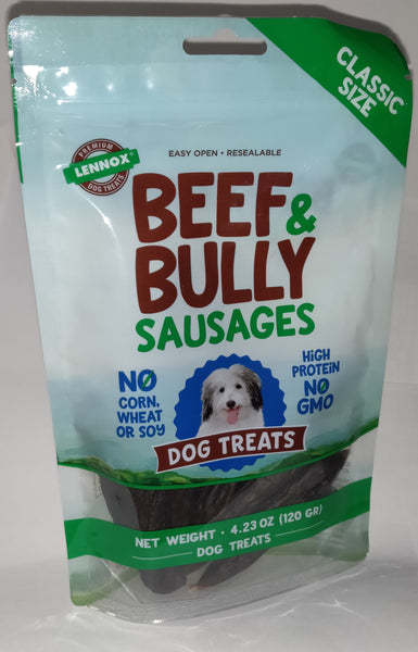 Lennox Beef & Bully Sausages