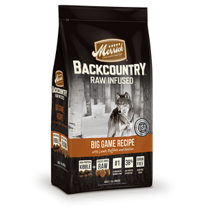 Merrick Backcountry - Raw Infused - Big Game Recipe Dry Dog Food