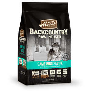 Merrick Backcountry - Raw Infused - Game Bird Recipe Dry Dog Food