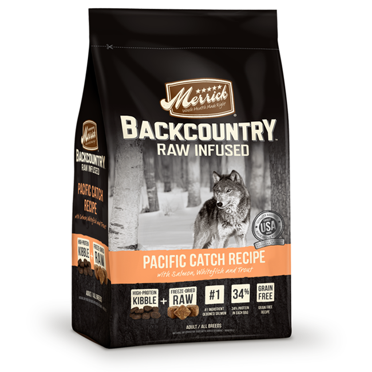 Merrick Backcountry - Raw Infused - Pacific Catch Recipe Dry Dog Food at NJPetSupply.com