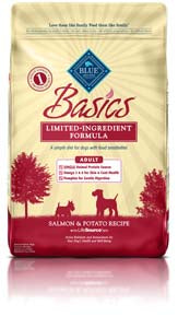 Blue Buffalo Basic Grain Free Salmon Dry Dog Food - NJ Pet Supply
