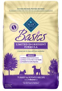Blue Buffalo Blue Basics Turkey and Potato Dry Dog Food - NJ Pet Supply