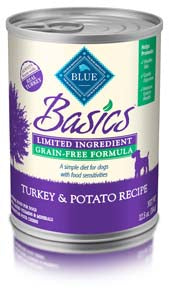 Blue Buffalo Blue Basics Grain Free Turkey and Potato Wet Dog Food - NJ Pet Supply