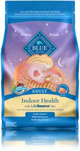 Blue Buffalo Indoor Health Adult Chicken & Brown Rice Dry Cat Food - NJ Pet Supply