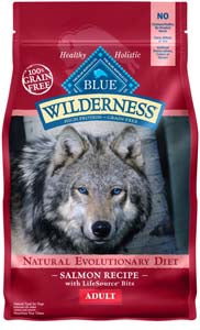 Blue Buffalo Wilderness Salmon Recipe Dry Dog Food - NJ Pet Supply