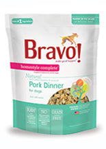 Bravo Homestyle Complete Pork Freeze Dried Dog Food, 6-lb at NJPetSupply.com