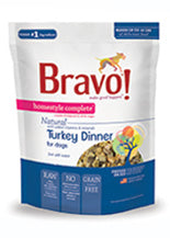 Bravo Homestyle Complete Turkey Freeze Dried Dog Food, 6-lb at NJPetSupply.com