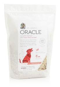 Dr. Harvey's Oracle Grain-Free, Freeze-Dried Raw Complete Diet for Dogs, Grain-Free Beef - NJ Pet Supply