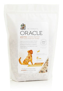 Dr. Harvey's Oracle Grain-Free, Freeze-Dried Raw Complete Diet for Dogs, Grain-Free Chicken - NJ Pet Supply