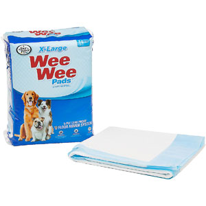 Four Paws Wee Wee Housebreaking X-Large Pads at NJPetSupply.com
