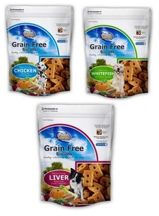 Nutrisource Grain Free 14oz. Dog Biscuits Chicken Treats at NJPetSupply.com