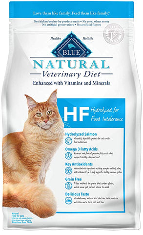 Blue Natural Veterinary Diet Hydrolyzed for Food Intolerance for Cats at NJPetSupply.com