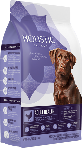 Holistic Select Radiant Health Chicken Meal & Rice Adult Dry Dog Food