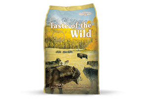 Taste of the Wild High Prairie Recipe with Roasted Bison and Roasted Venison Dry Dog Food at NJPetSupply.com