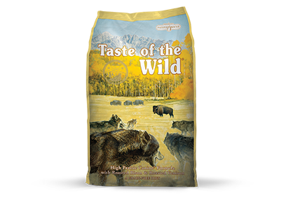 Taste of the Wild High Prairie Recipe with Roasted Bison and Roasted Venison Dry Dog Food