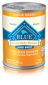 Blue Buffalo Homestyle Recipe Large Breed Chicken Dinner Wet Dog Food at NJPetSupply.com