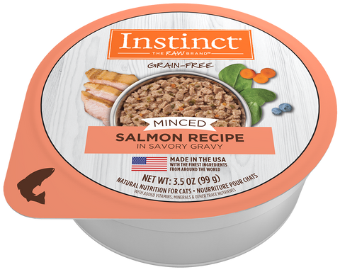 Nature's Variety Instinct Minced Salmon Recipe Wet Cat Food