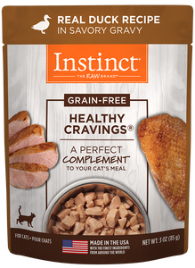 Nature's Variety Instinct Healthy Cravings Real Duck Recipe Cat Food Mixer/Topper